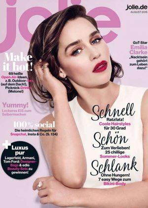Emilia Clarke - Jolie Magazine Cover (August 2016)