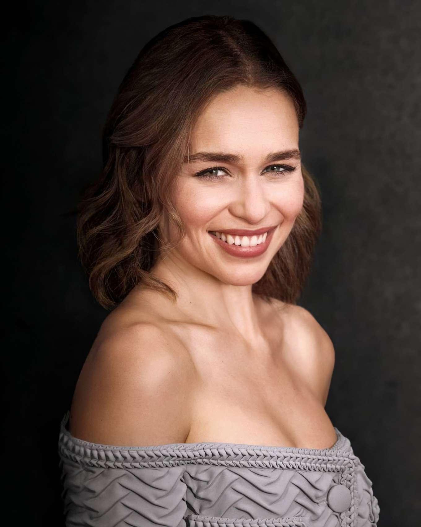 Emilia Clarke - 'Last Christmas' Portrait 2019 in Berlin