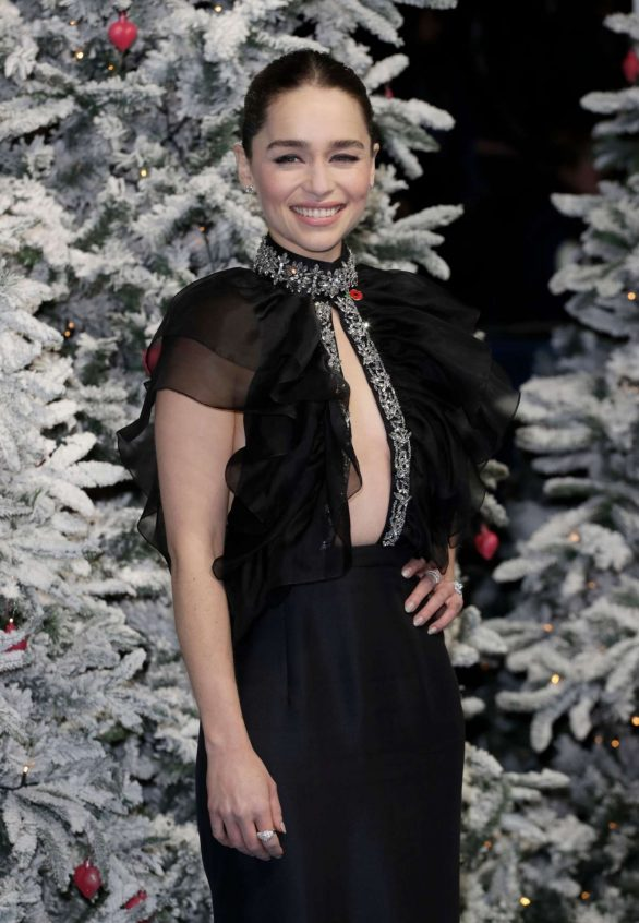 Emilia Clarke - 'Last Christmas' Premiere in London