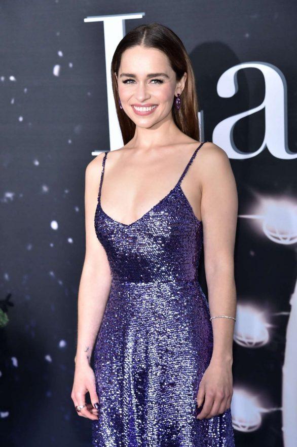 Emilia Clarke - 'Last Christmas' Premiere in New York