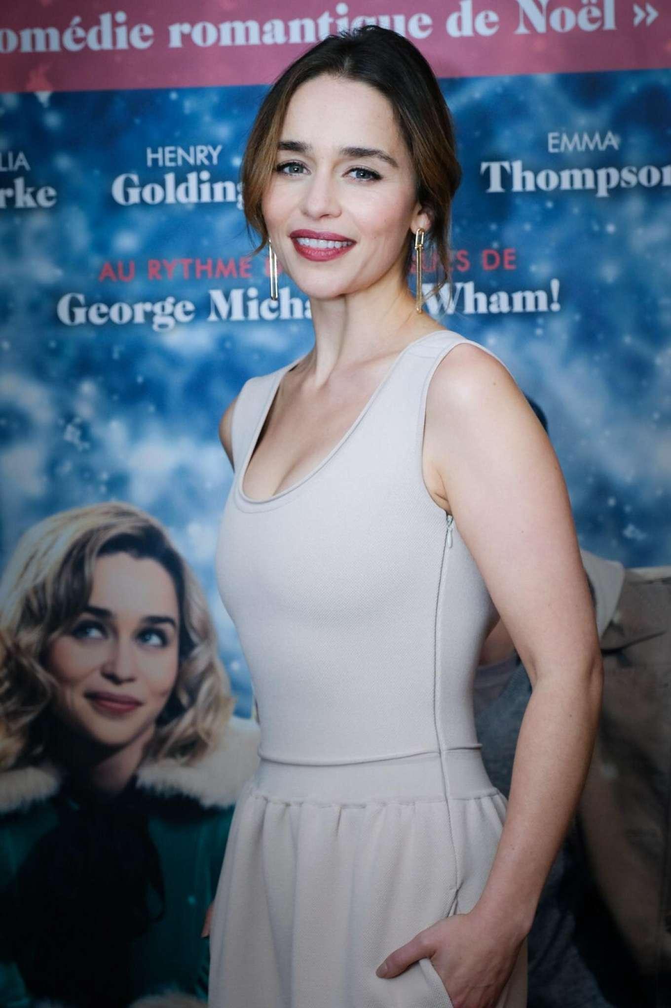 Emilia Clarke - 'Last Christmas' Premiere in Paris