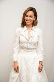 Emilia Clarke - 'Last Christmas' Press Conference in Beverly Hills