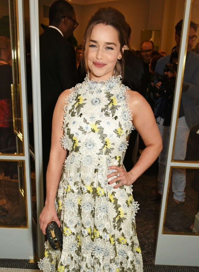 Emilia Clarke - Launch Of First Erdem Flagship Store in London