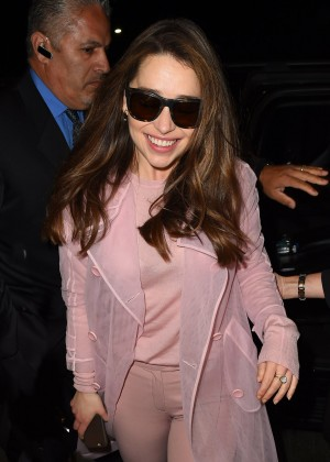 Emilia Clarke - LAX Airport in LA