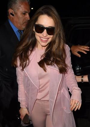 Emilia Clarke - LAX Airport in LA