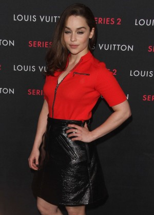 "Emilia Clarke - Louis Vuitton ""Series 2"" The Exhibition in Hollywood"