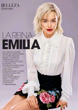 Emilia Clarke - Marie Claire Spain Magazine (February 2018)