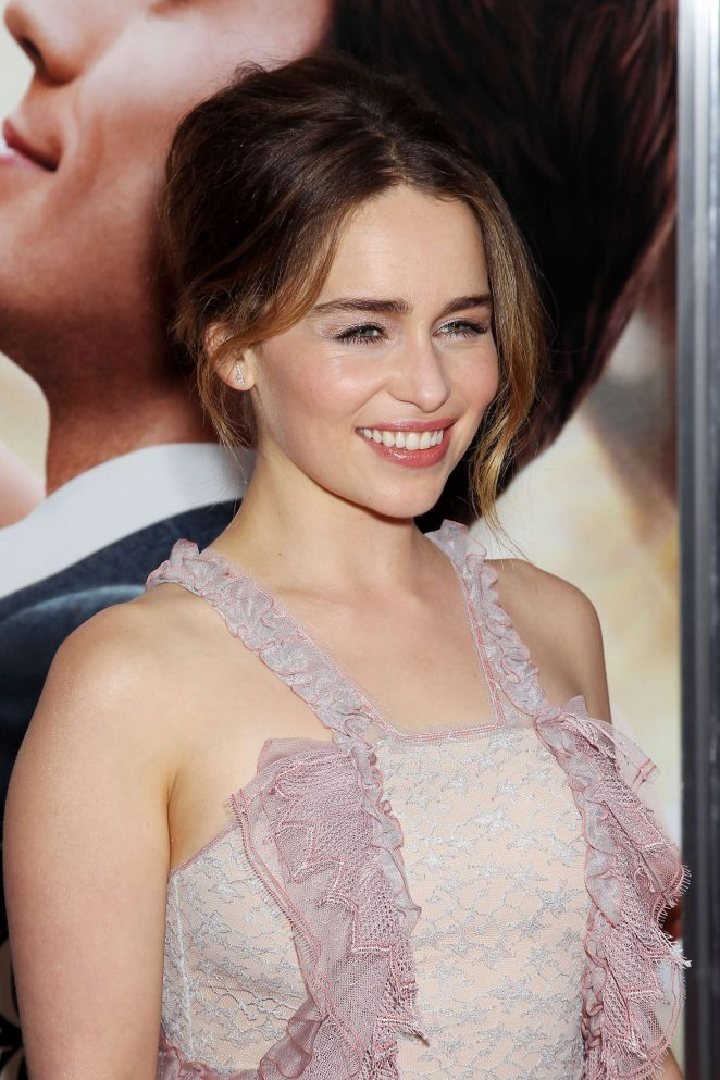 Emilia Clarke – 'Me Before You' Premiere in New York