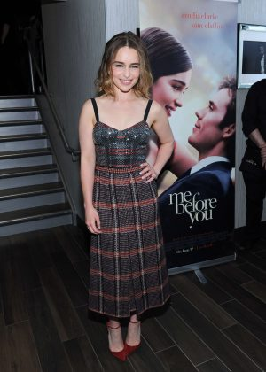 Emilia Clarke - 'Me Before You' Screening in Toronto