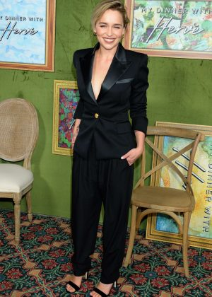 Emilia Clarke - 'My Dinner with Herve' Premiere in LA
