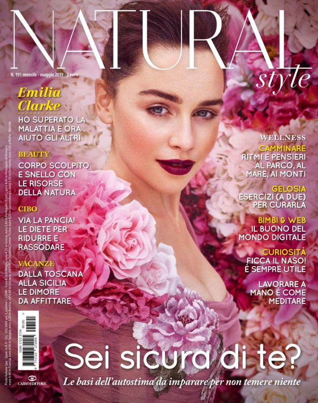 Emilia Clarke - Natural Style Magazine (Italy - May 2019 issue)