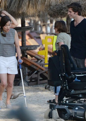 Emilia Clarke on Me Before You -14