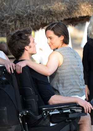 Emilia Clarke on Me Before You -18