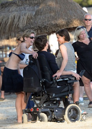 Emilia Clarke on Me Before You -21
