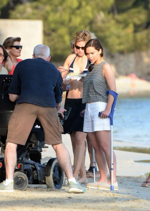 Emilia Clarke on Me Before You -23