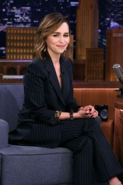 Emilia Clarke - On 'The Tonight Show Starring Jimmy Fallon' in NYC