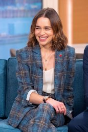Emilia Clarke - On This Morning TV in London