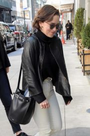 Emilia Clarke - Out and about in New York City