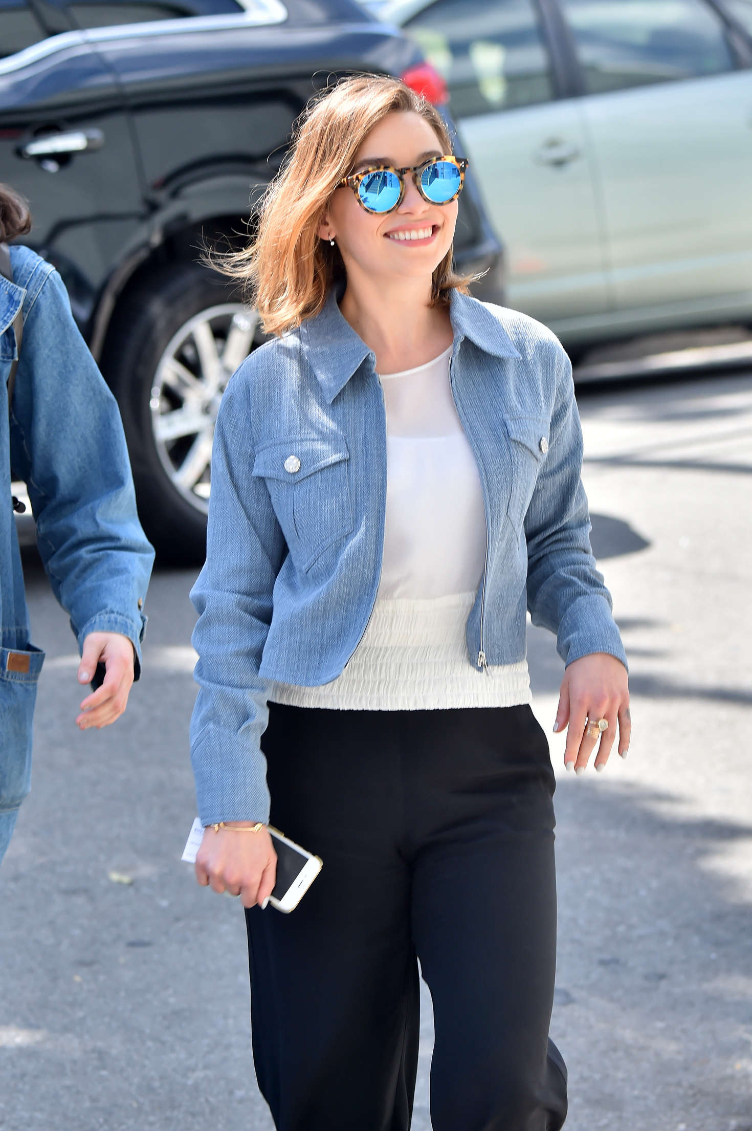 Emilia Clarke Out And About In West Hollywood Gotceleb