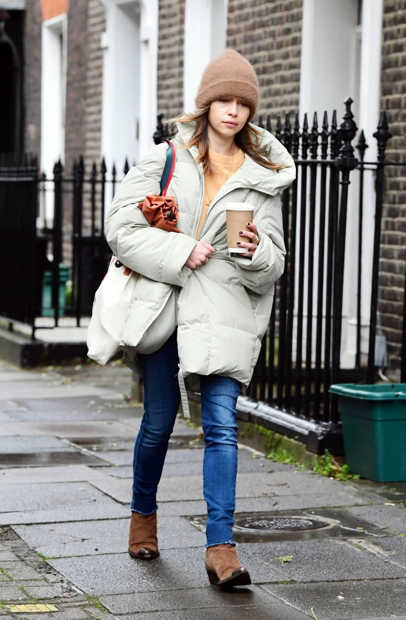 Emilia Clarke 2020 : Emilia Clarke – Out in London-04