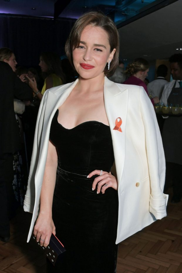 Emilia Clarke - SMS Battles Quiz for The MS Society in London