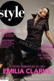Emilia Clarke - Style Deutschland Magazine (December 2019)