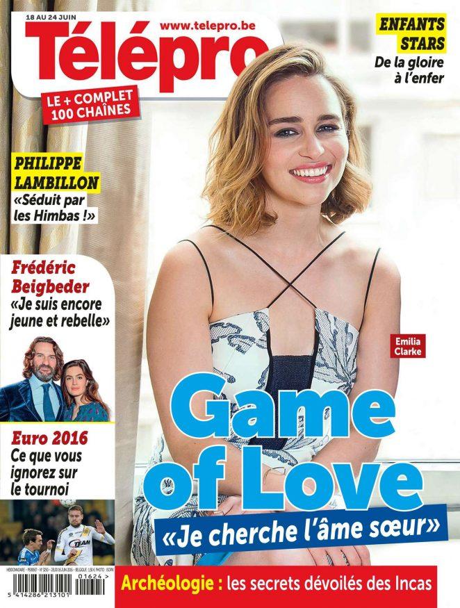 Emilia Clarke - Telepro Magazine (June 2016)