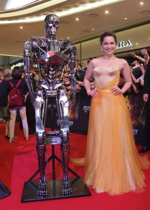 Emilia Clarke - 'Terminator Genisys' Premiere in Seoul