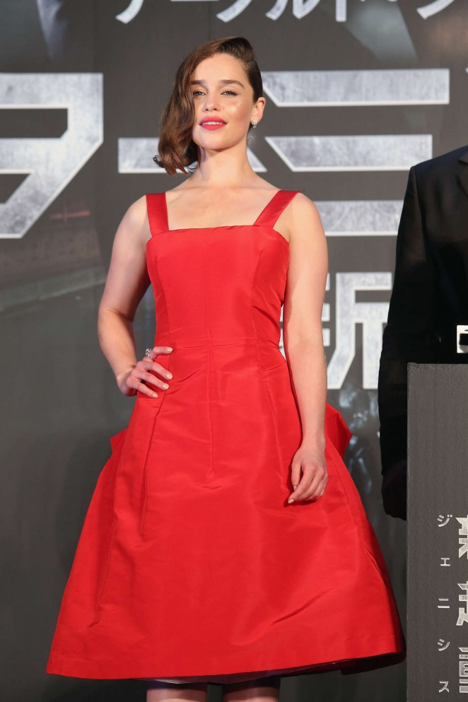 Emilia Clarke – 'Terminator Genisys' Premiere in Tokyo