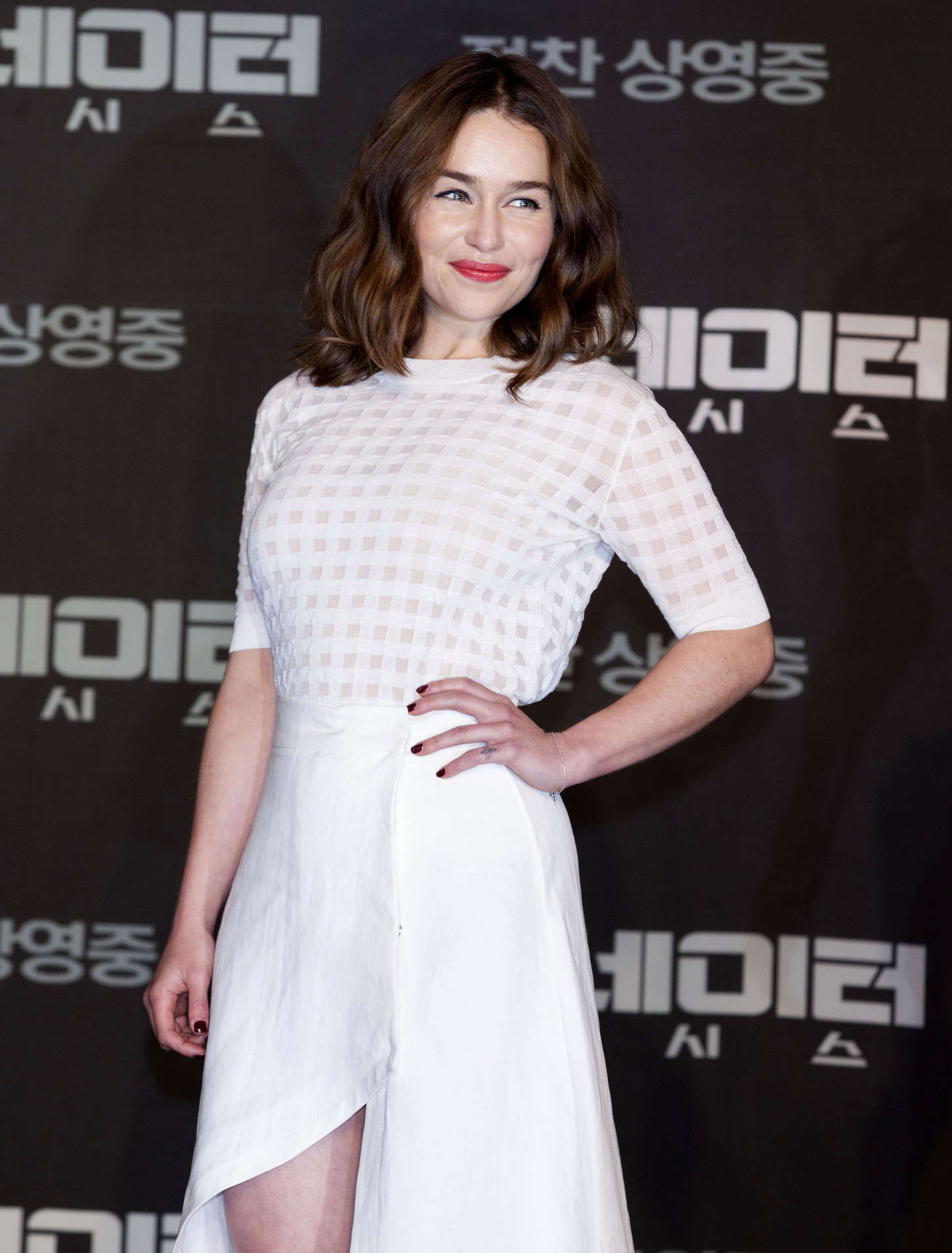Emilia Clarke - 'Terminator Genisys' Press Conference in Seoul