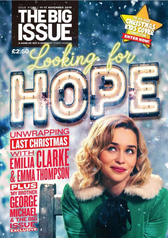 Emilia Clarke - The Big Issue 11-17 November 2019