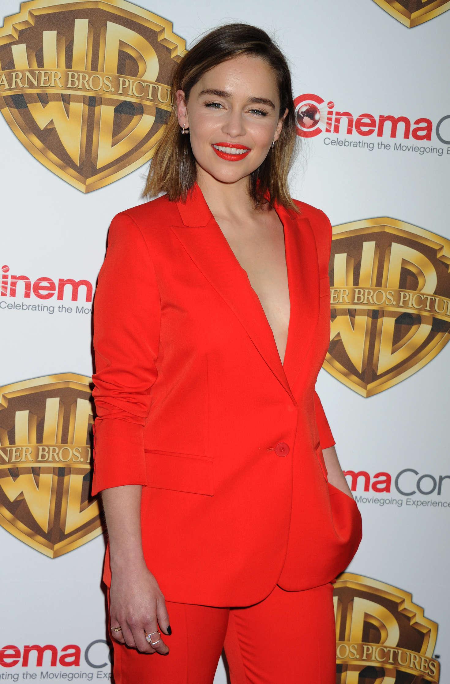 Emilia Clarke - 'The Big Picture' Presentation at CinemaCon 2016 in Las Vegas