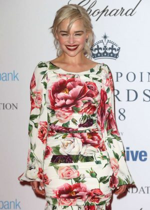 Emilia Clarke - The Centrepoint Awards 2018 in London