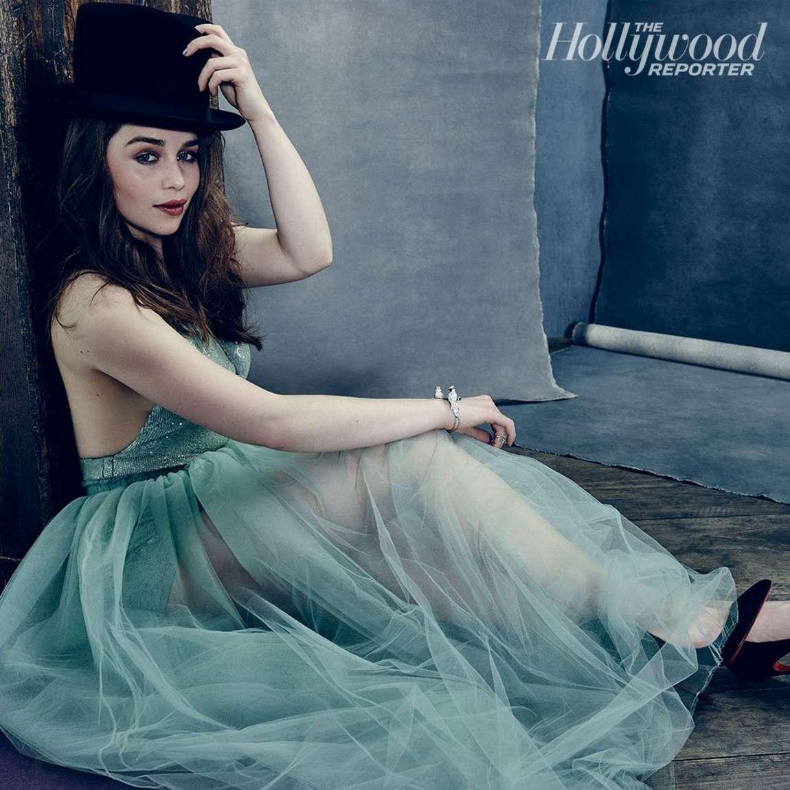Emilia Clarke 2015 : Emilia Clarke: The Hollywood Reporter 2015 -02