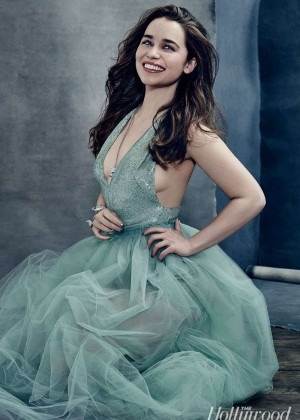 Emilia Clarke - The Hollywood Reporter Photoshoot 2015