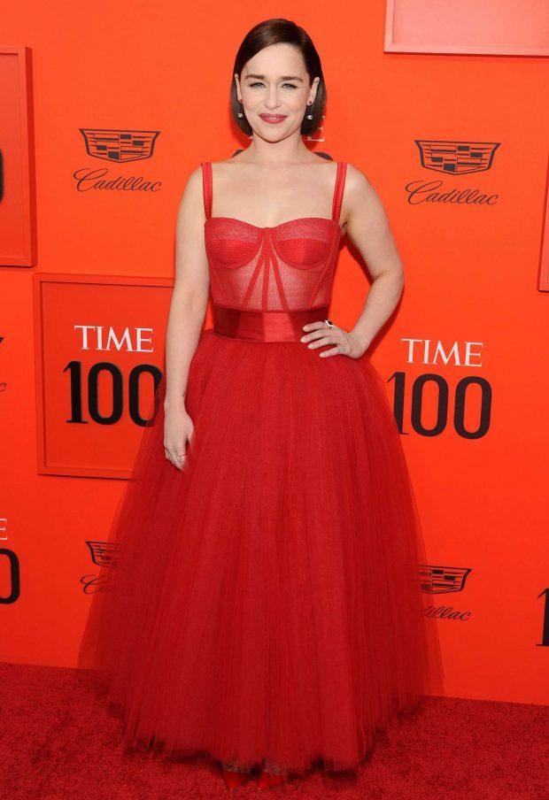 Emilia Clarke: TIME 100 Gala 2019 -03