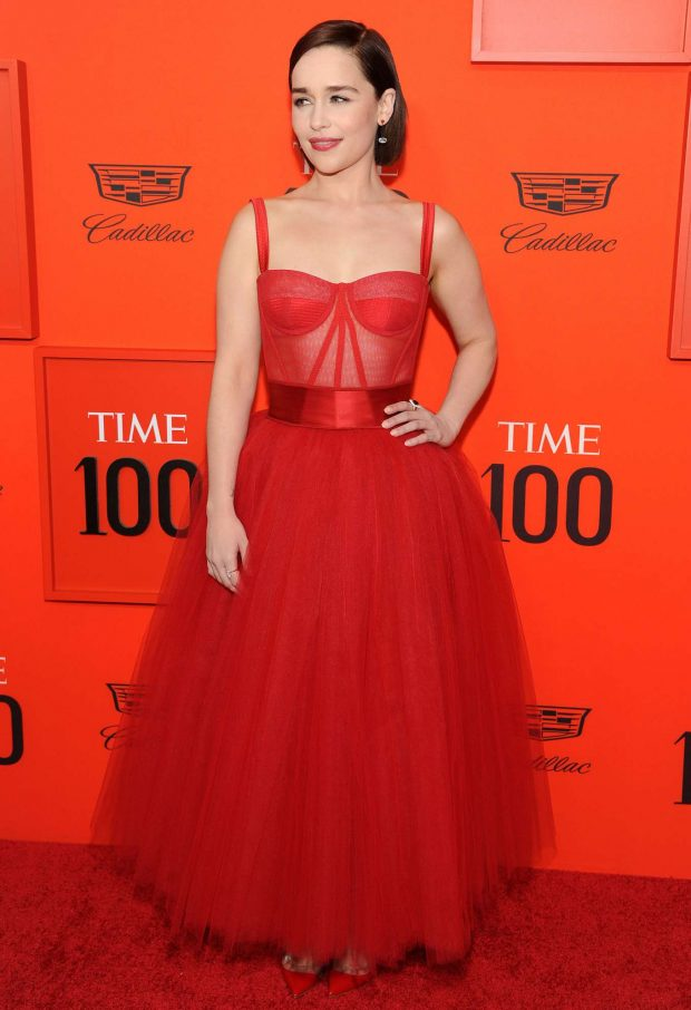 Emilia Clarke: TIME 100 Gala 2019 -06