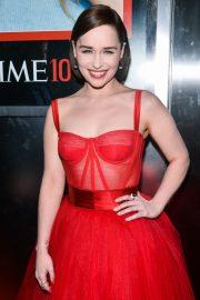 Emilia Clarke - TIME 100 Gala 2019 in NYC