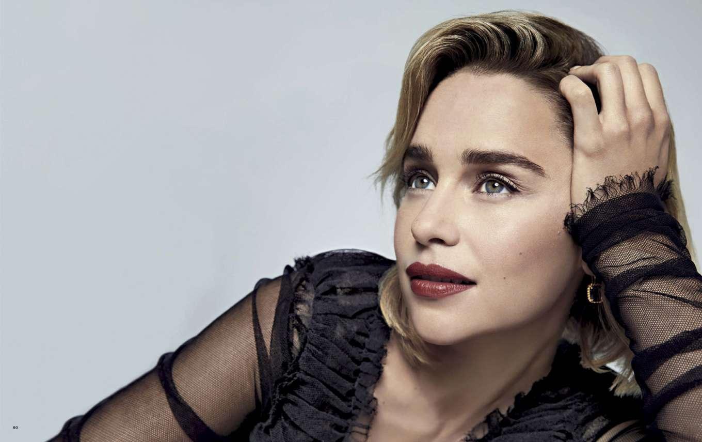 Emilia Clarke 2019 : Emilia Clarke – Vanity Fair Italy 2019-07