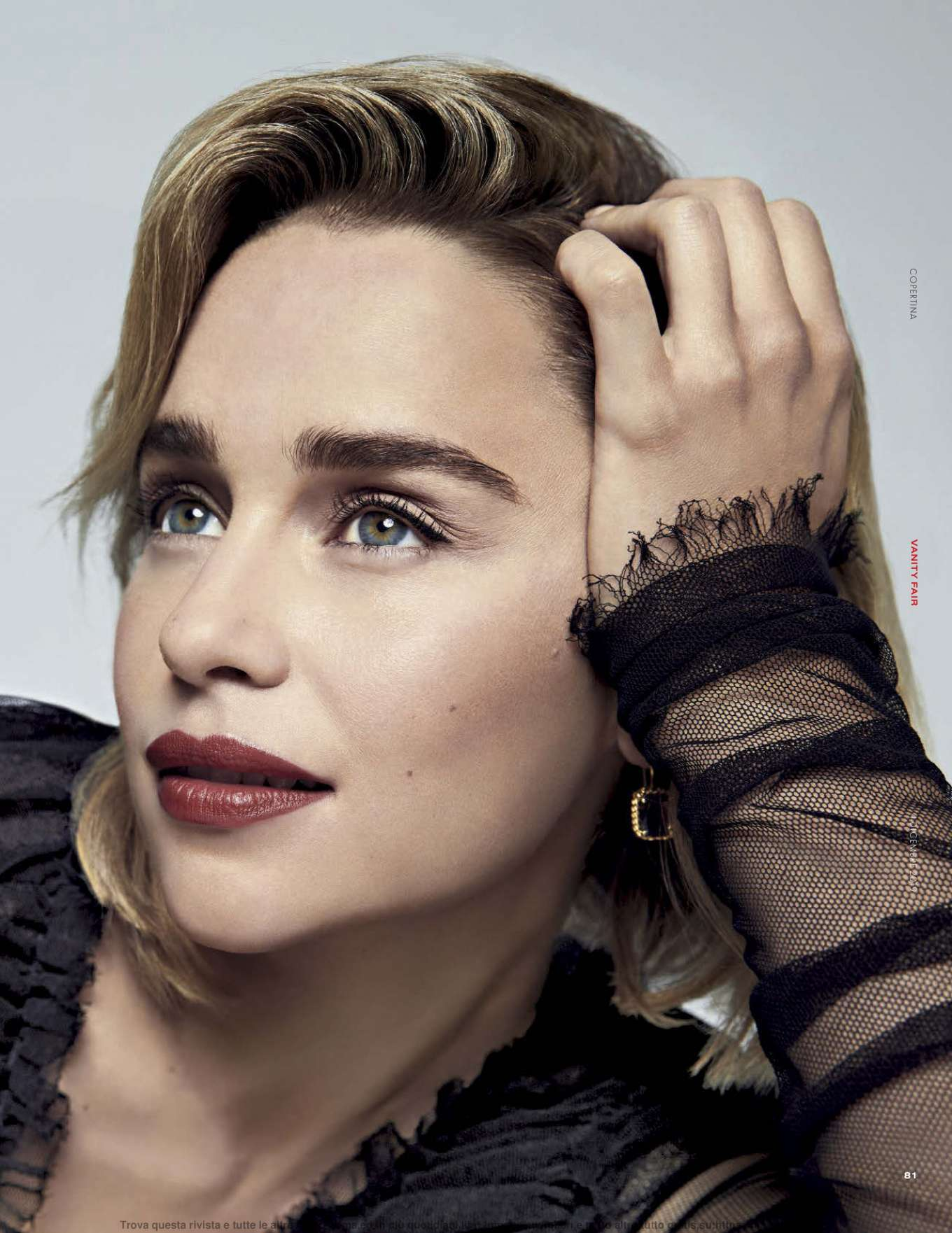 Emilia Clarke 2019 : Emilia Clarke – Vanity Fair Italy 2019-08