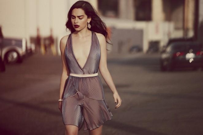 Emilia Clarke – Yahoo Style UK Magazine (July 2015)