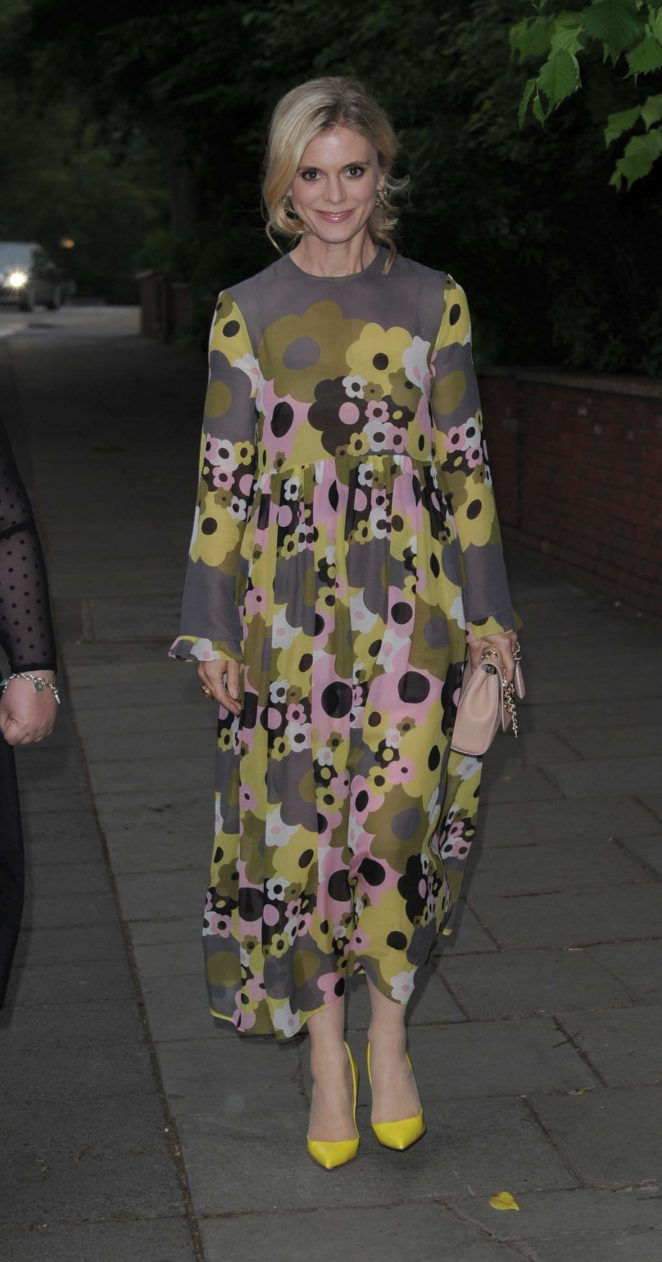Emilia Fox at Hope and Homes For Children: End The Silence Gala Dinner in London