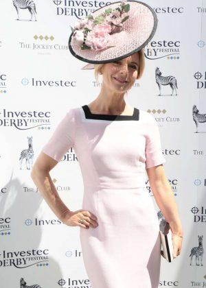 Emilia Fox - Derby Day Investec Derby horse racing in Surrey