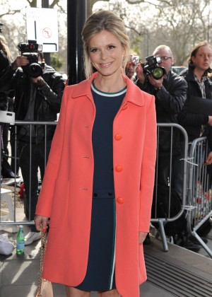 Emilia Fox - 2015 TRIC Awards in London