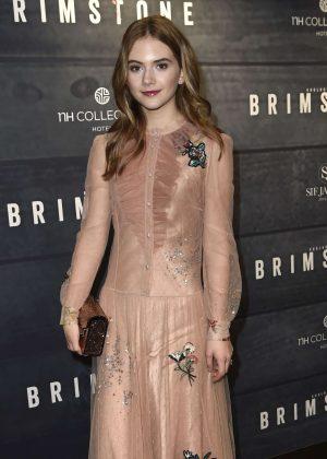 Emilia Jones - 'Brimstone' Premiere in Amsterdam