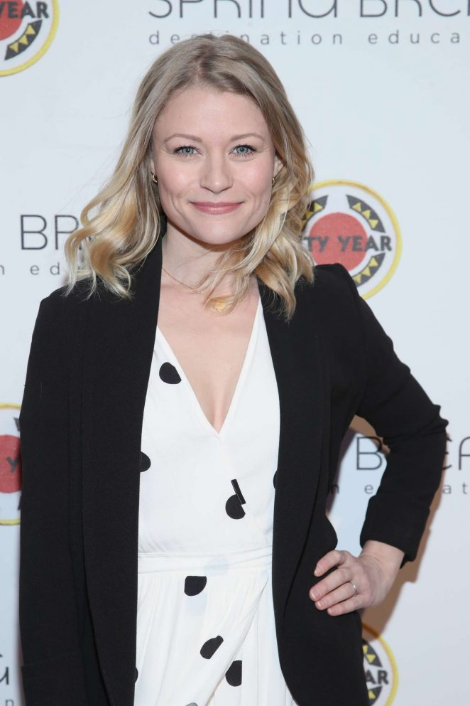 Emilie de Ravin - City Year Los Angeles Spring Break: Destination Education in LA