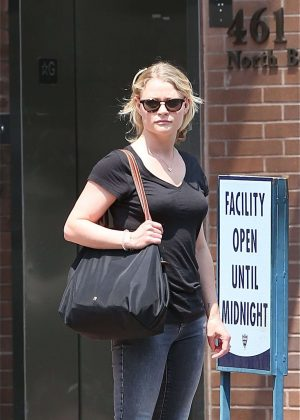 Emilie de Ravin out in Beverly Hills