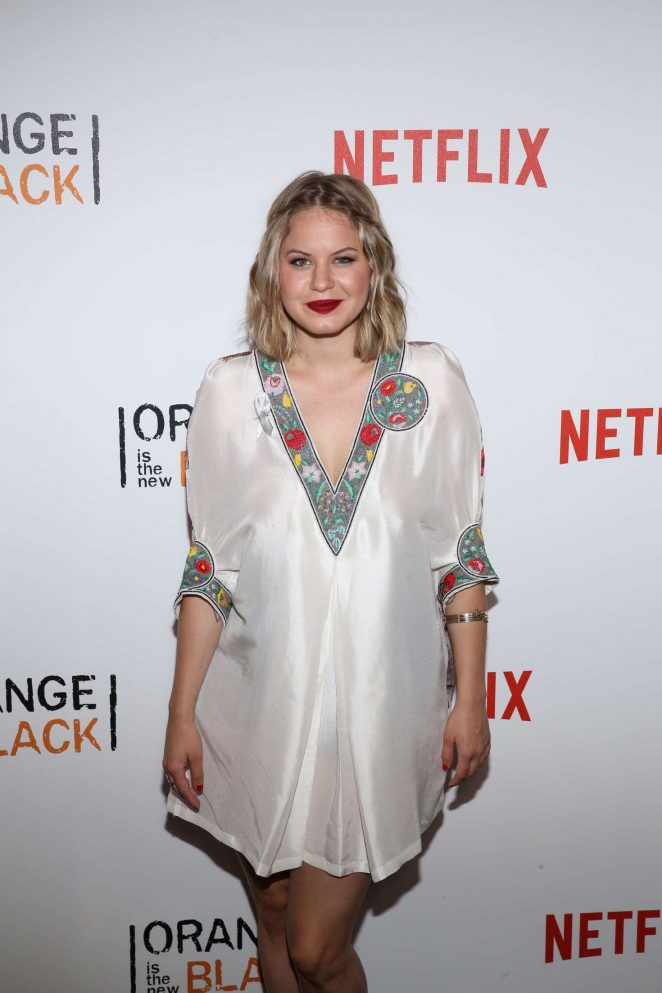 Emily Althaus - 'Orange Is The New Black' Season 4 Premiere in New York