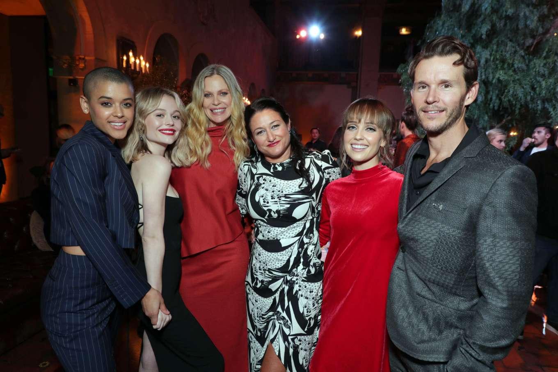 Emily Alyn Lind 2020 : Emily Alyn Lind – In black dress at Sacred Lies: The Singing Bones premiere in Los Angeles-04