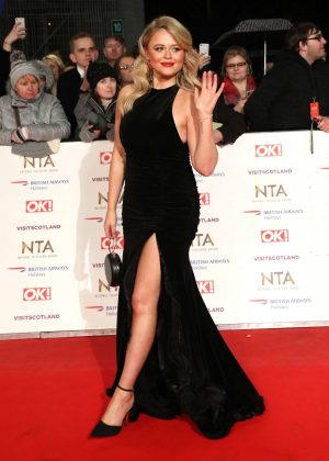 Emily Atack - 2019 National Television Awards in London